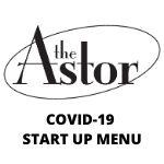COVID-19 START UP MENU